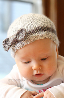 dc72c983cf9 Ravelry  Bow Baby Hat pattern by Cassandra May