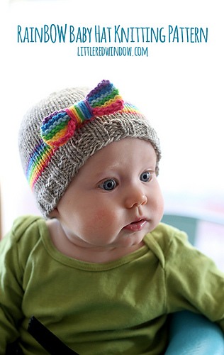 Rain_bow_baby_hat_knitting_pattern_02_littleredwindow_medium