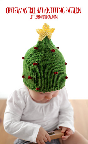 Christmas_tree_hat_baby_knitting_pattern_03b_littleredwindow_medium