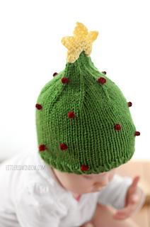 Christmas_tree_hat_baby_knitting_pattern_02b_littleredwindow_small2