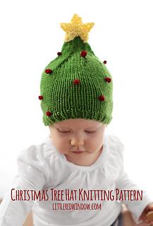 Christmas_tree_hat_baby_knitting_pattern_01b_littleredwindow_small2