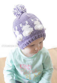 bd6690d9533 Ravelry  Easter Bunny Fair Isle Hat pattern by Cassandra May
