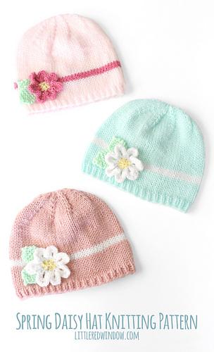 Darice_baby_acrylic_yarn_daisy_flower_hat_knitting_pattern_08b_littleredwindow_medium
