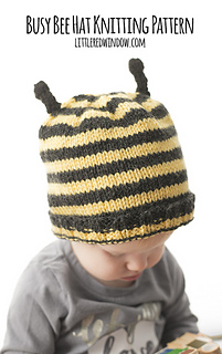 2f9da790e Ravelry  Busy Bee Hat pattern by Cassandra May