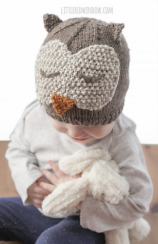 Ravelry Sleepy Owl Hat Pattern By Cassandra May