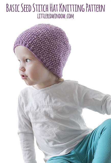 959a320b97c Ravelry  Easy Seed Stitch Baby Hat pattern by Cassandra May