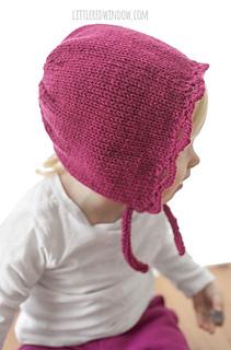 d567910ef Scalloped Edge Bonnet pattern by Cassandra May