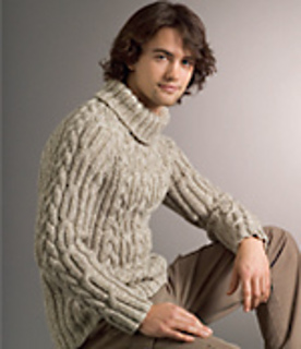 5a00260f9c2bad Ravelry  Cable   Rib Raglan Sweater pattern by Patons Australia