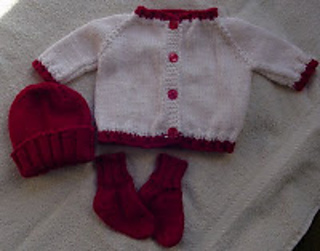 d892384446ab Ravelry  Sue s Easy Top Down Baby Sweater pattern by Susan A. Coes