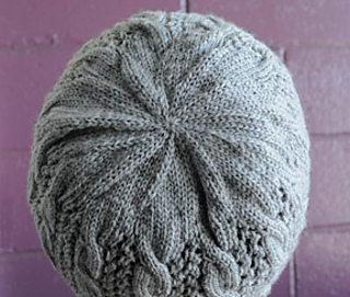 Free Knitting Patterns For Lace Hats : Ravelry: Cables n Lace Hat (Fingering) pattern by Cathy Campbell