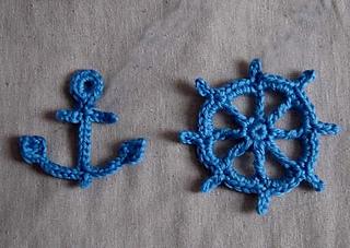 Ravelry Crochet 7 Appliques Pattern By Cathy Ren