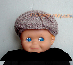 Ravelry  Baby Golf hat and Newsboy hat pattern by Cathy Ren 5cd6846038a