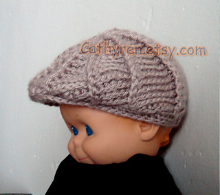 Ravelry  Baby Golf hat and Newsboy hat pattern by Cathy Ren c14117671a0