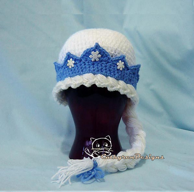 Ravelry Frozen Princess Elsa Hat Pattern By Cathy Ren