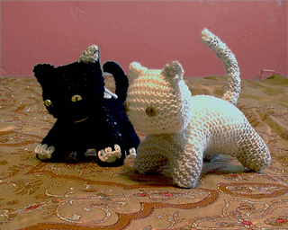 Cat Design Knitting Pattern : Ravelry: Cats, Kitty, Kitten - Knitting pattern pattern by Cathy Ren