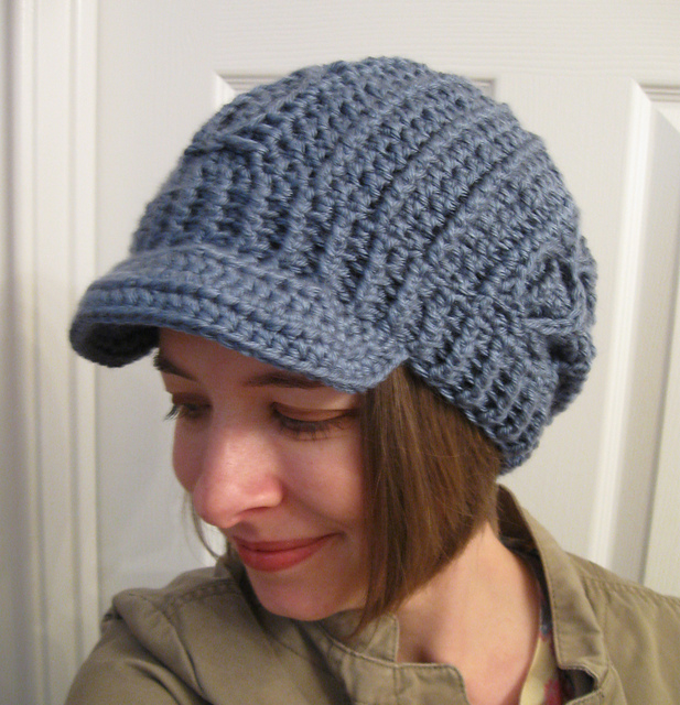 Ravelry Slouchy Faux Cable Hat Optional Brim Pattern By C Beth Blog
