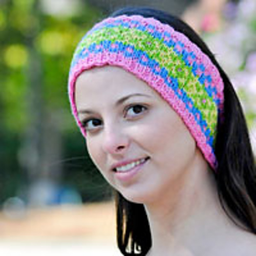 Ravelry: Fair Isle Headband pattern by Cheryl Beckerich