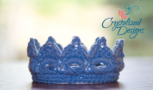 Ravelry Perfect Princeprincess Crown Pattern By Crystalized Designs