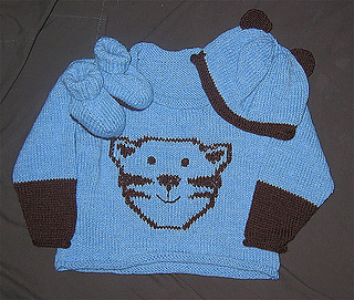 Ravelry Cat Sweater Hat And Bootees Pattern By Sirdar Spinning Ltd