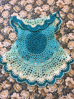 Ravelry Lacy Mandala Vest For Girls Pattern By Artefacts