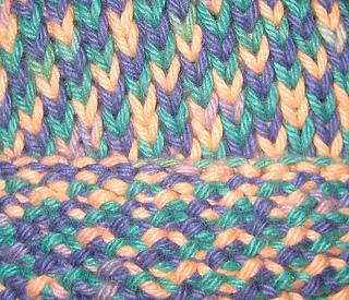 Knitting Stitches Knit One Below : Ravelry: Knit One Below (K1B) Baby Hat pattern by ChemKnits