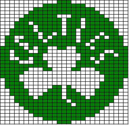 Ravelry Boston Celtics Logo Knitting Chart Pattern By Chemknits