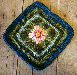 Ravelry: cherbear1975's Lily Pond Blanket - Crochet-Along by