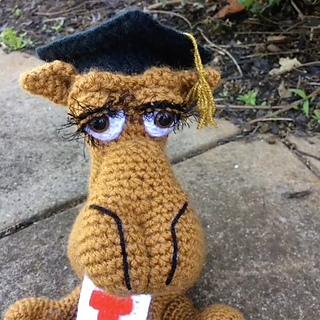 Ravelry  Crocheted Graduation Cap pattern by Abigail Gonzalez e772bf95963