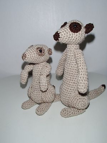 Ravelry Meerkats Pattern By Chiwaluv Amigurumi Critters