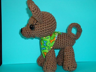 Chiwaluv Amigurumi Critters Blog : Ravelry: Standing Chihuahua pattern by Chiwaluv Amigurumi ...