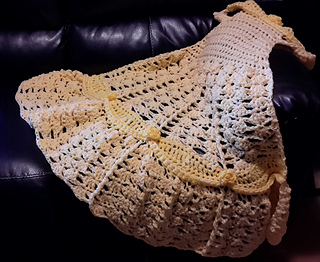 Crochet Pattern Princess Dress Blanket : Ravelry: Princess Dress Blanket yellow pattern by Carol L ...