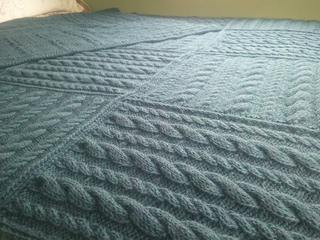 Easy Aran Squares Pattern By The Staff At Martingale Ravelry