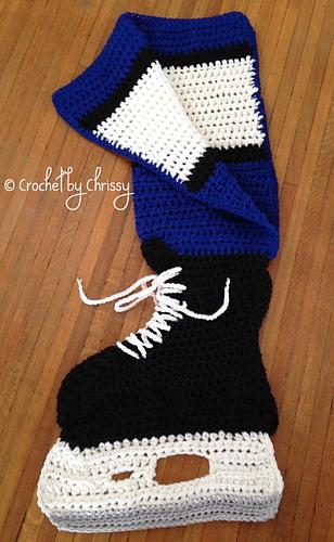 Free Crochet Pattern Baby Hockey Skates : Ravelry: Hockey Skate Blanket pattern by Crochet by Chrissy