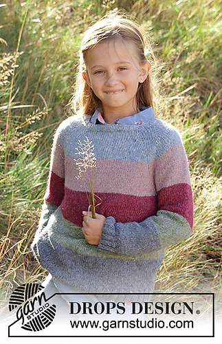 Ravelry S34 8 Spring Lines Pattern By Drops Design