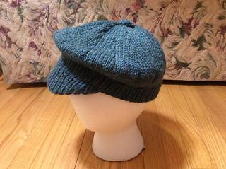 Ravelry  Knit Newsboy Cap pattern by Alma Mahler 153444a97b3