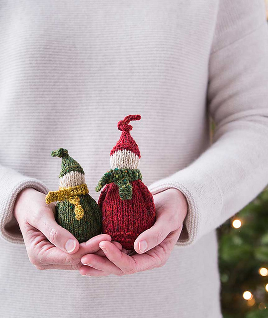 Ravelry: Jolly Wee Elf pattern by Churchmouse Yarns and Teas