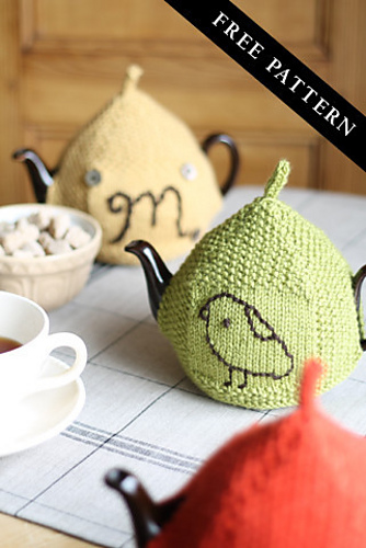 Ravelry Seed Stitch Tea Cozy Pattern By Churchmouse Yarns And Teas