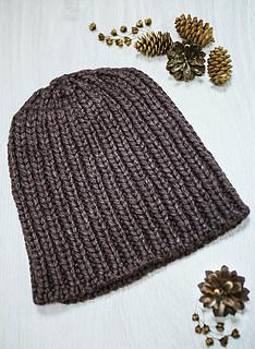 78622911b33 Ravelry  Big Wool Silk Hat pattern by Irina Glukhova