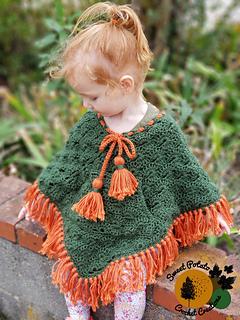 Ravelry: Starburst Toddler Poncho Pocket and Embellishments