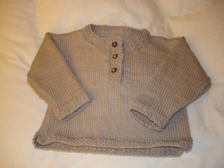 edcf3f078618 Ravelry  Baby Top with Seed Stitch Trim pattern by Debbie Bliss