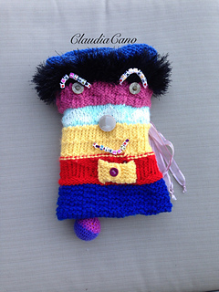 Ravelry Loom Knitted Twiddle Muff Pattern By Claudia Cano