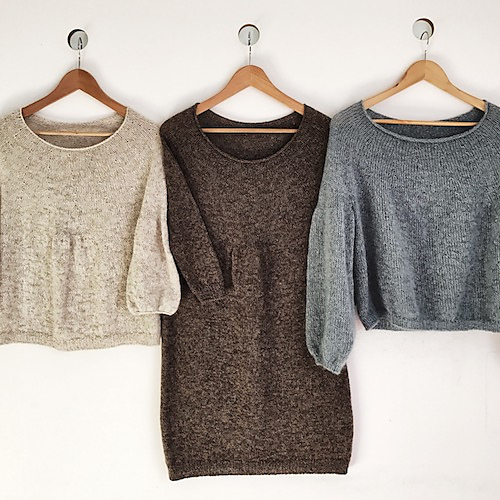 chandail tunique tricoté Miromesnil par Cléonis