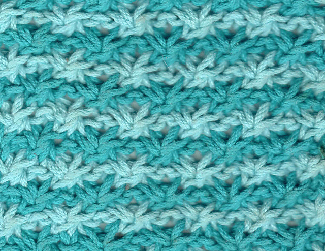 Ravelry Two Color Star Stitch Pattern By Barbara G Walker