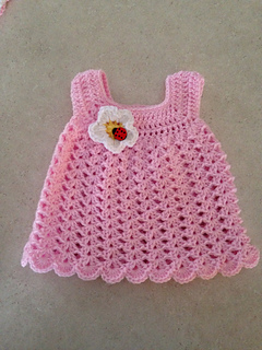 Ravelry Easy Baby Sun Dress Pattern By Carol Garcia