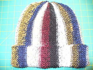 Ravelry Easy Short Row Garter Stitch Hat Pattern By Mary F