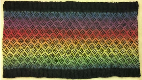 Ravelry Simple Fair Isle Learning Cowl Pattern By Anita Brecosky