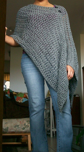 Ravelry Customizable Poncho Pattern By Patti