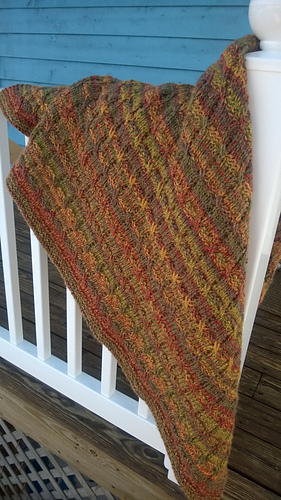 Ravelry Big Needle Knit Afghans Patterns