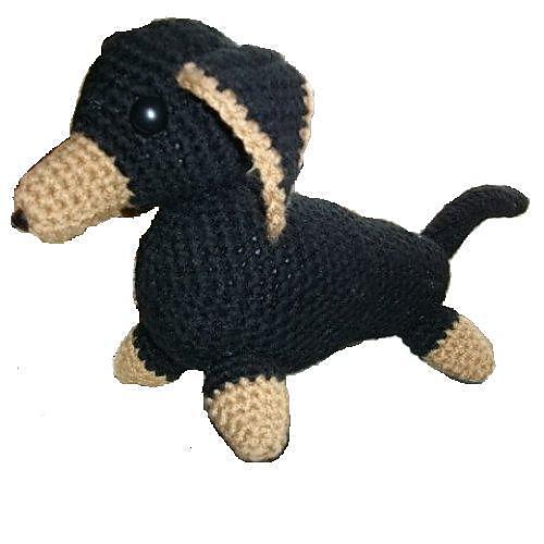 Ravelry Dachshund Dog Pattern By Copper Llama Studio