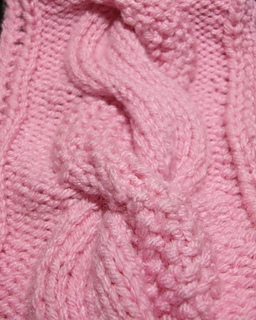 #1810 COSY KNITTED VINTAGE KNITTING PATTERN